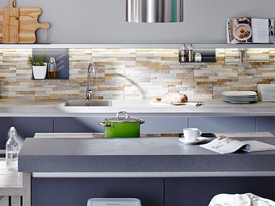 Lavori svolti outlet della pietra naturale - Top cucina pietra naturale ...
